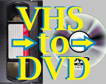 VHS to DVD or Digital: HD 1080p Quality
