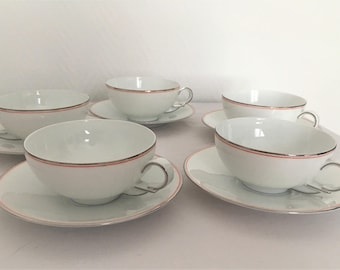 all cups from the 30s in porcelain