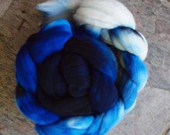 Fathoms, 100g of hand dyed merino roving