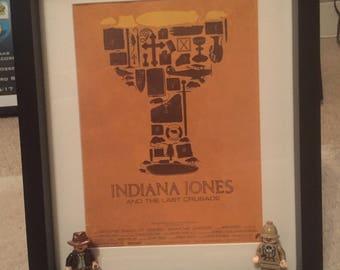 Indiana Jones Minifigure frame
