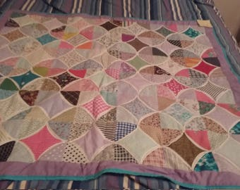 Flying Geese Diamonds Quilt