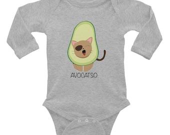 Avocatso Infant Long Sleeve Bodysuit