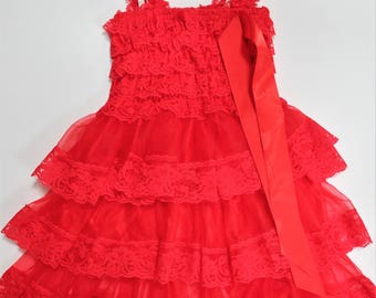 3 Tier Lace Dress