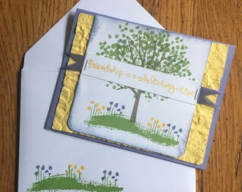 Friendship Themed Cards (Set of 3)