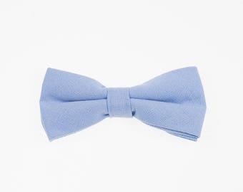 de MORÉ - baby blue bow tie