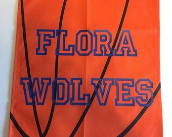 basketball  garden flag