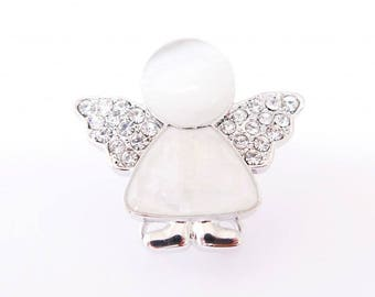 Angel button cover