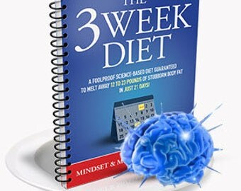 THE 3 WEEK DIET is a revolutionary new diet system that not only guarantees to help you lose weight