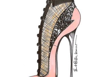 Tuxedo Shoe Print