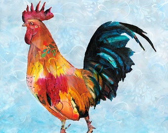 Rooster - Fine Art Print