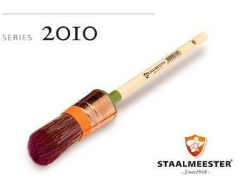 Staalmeester Round Sash Paint Brush - Series 2010 - 4 Sizes
