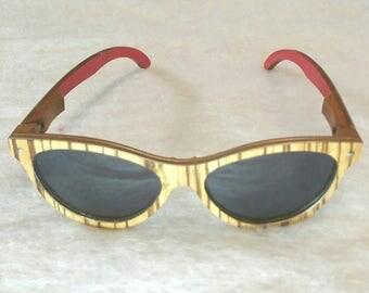 Women's Wooden Sunglasses