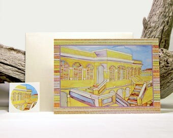 Christiansted Fort Note Card Set (8)