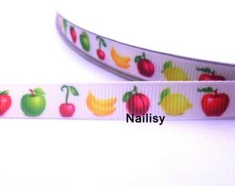 1 meter of Ribbon fruit