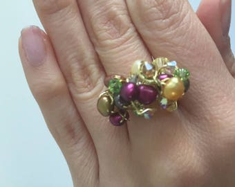 Cluster ring size 7