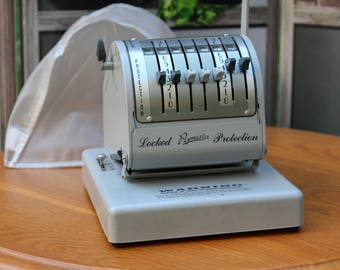Vintage Paymaster X-550 Cheque Writer