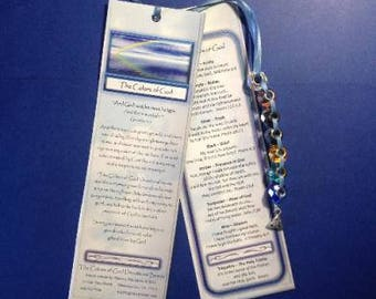 Bookmark - The Colors of God Devotional Beads (c)