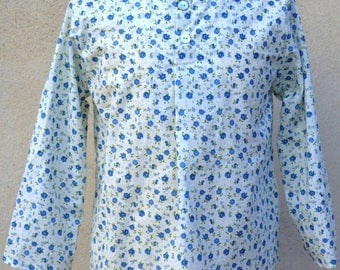 tunic buttoned long sleeved T-6 years