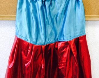 5 Jr Girls Fancy Shawl Skirts