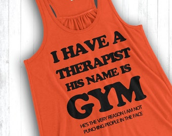I Have a Therapist, His Name is Gym
