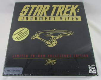 Star Trek: Judgement Rites Limited CD-ROM Collector's Edition (1995)