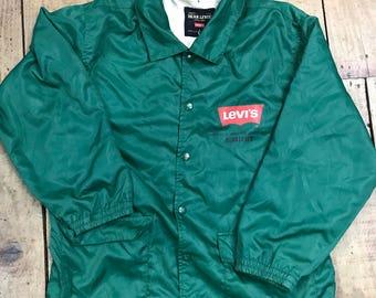 vintage levis hoodie jacket 90s