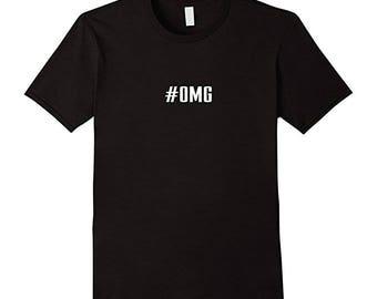 Hashtag OMG T-Shirt