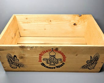 Vintage Beer Crate
