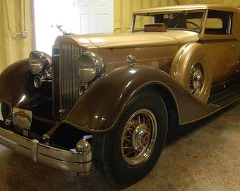 12 Cylinder Packard Hot Rod