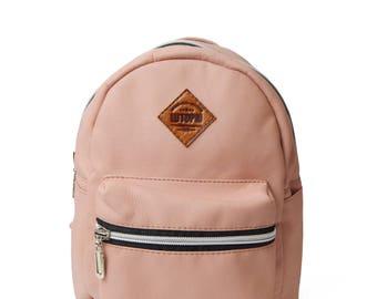 Pink Backpack Hipster Backpack Canvas Backpack Mini Backpack Cute Backpack Mens Backpack  Fashion Backpack Girls Backpack Girllfiend gift