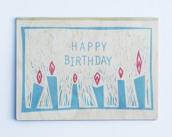 Ema Greetings Card - Birthday