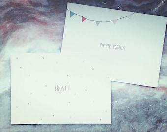 Papeterie/design/post card set à 5 - Select itself