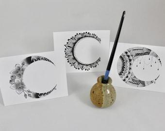 Mandala Moons Gift Card Variety 6 Pack (2 of each)