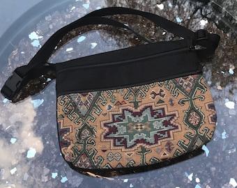 Handmade Pattern Tapestry Hip bag