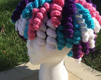Crochet Curly Q Wig PATTERN