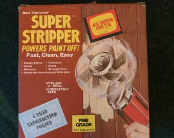 Vintage Super Stripper New in Box 'As seen on TV' Paint Stripper ronco