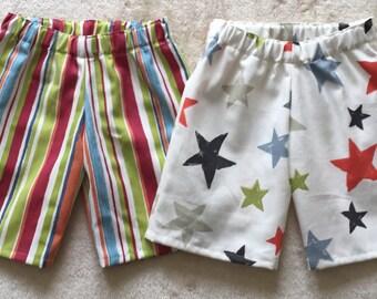 Boys themed shorts set