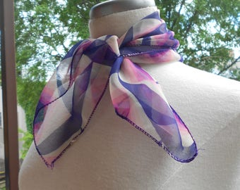 60's Psychedelic Scarf