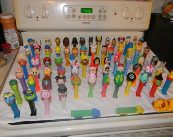 pez candy dispencers