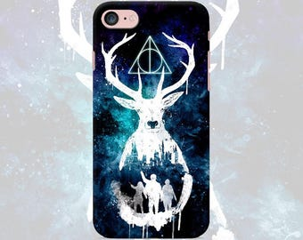 Phone case Harry Potter iPhone case 7 7 Plus 6 6s 6 plus 5 5s 5se 4 4s Samsung galaxy s7 edge s7 s6 s5 s4 s3 case deer art poster gift print