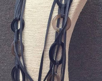Lagenlook Layered Links Necklace