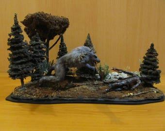 Van Helsing film werewolf Diorama