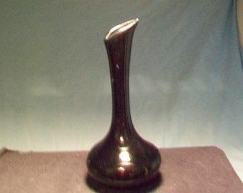 Van Briggle Black Bud Vase