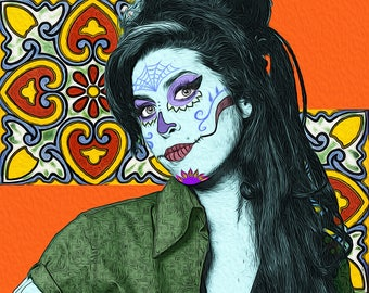 Amy Winehouse Day of the Dead