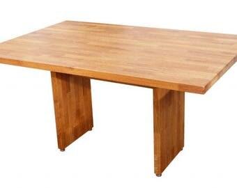 kitchen or living room glued laminated oak model T2 150 X 100 cm