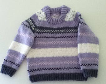 Pullover sweater for average 2 year old