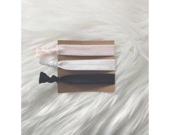 BALLERINA Elastic Hair Tie Set