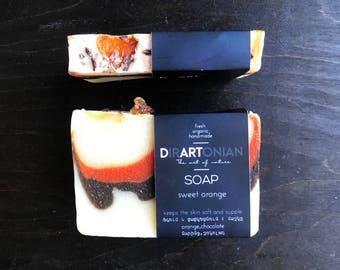 Creamy orange soap