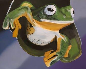 18 x 24 Tree Frog