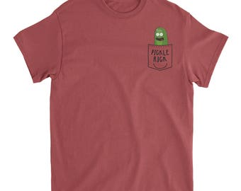 Rick and Morty Pickle Rick Comfort Colors T-Shirt
